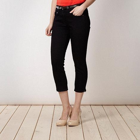J by Jasper Conran - Designer navy cropped skinny jeans