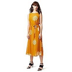 J by Jasper Conran - Yellow circle print layered dress