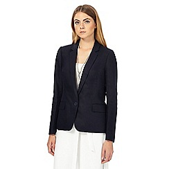 J by Jasper Conran - Navy linen blend blazer
