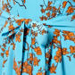 J by Jasper Conran - Designer turquoise blossom tea dress Alternative 2