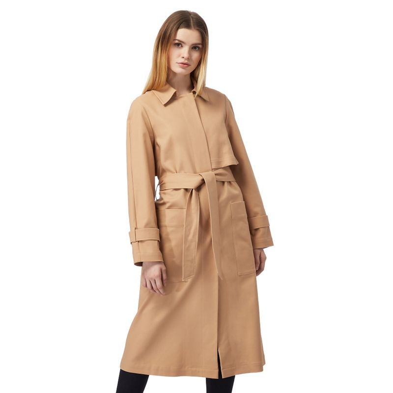 J by Jasper Conran Camel Ultimate Trench Coat, Womens,