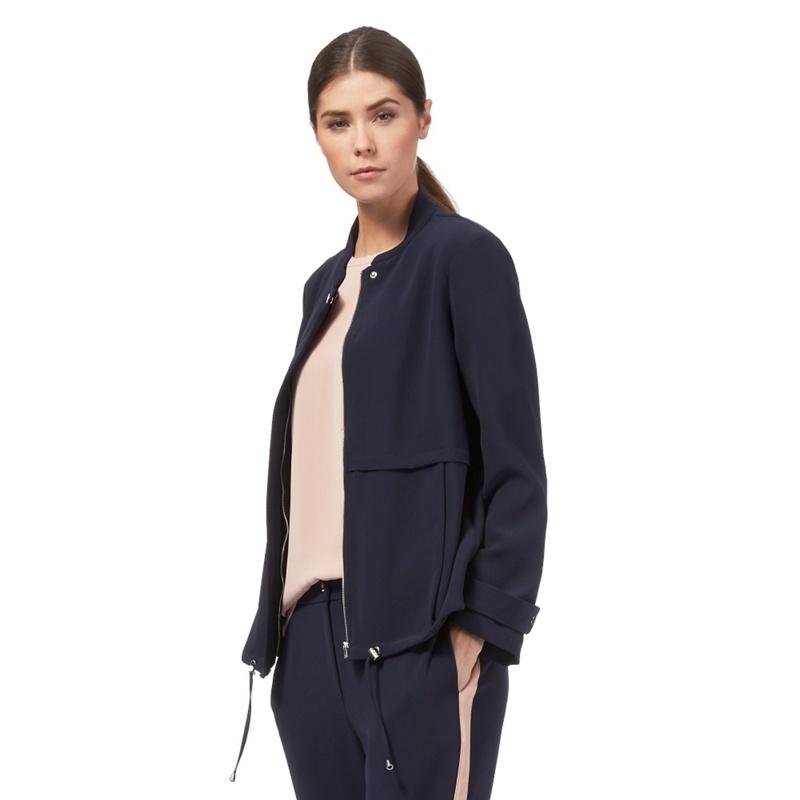 Plus Size J by Jasper Conran Navy (Blue) Soft Jacket,