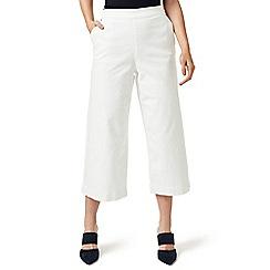 J by Jasper Conran - White wide leg trousers