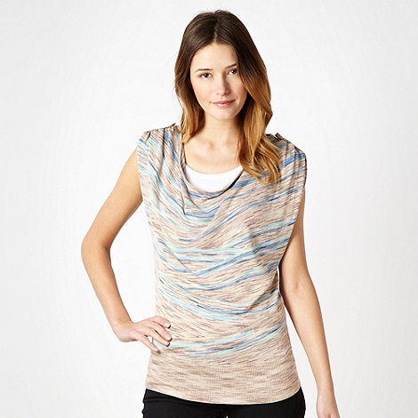 J by Jasper Conran - Natural space dye cowl top