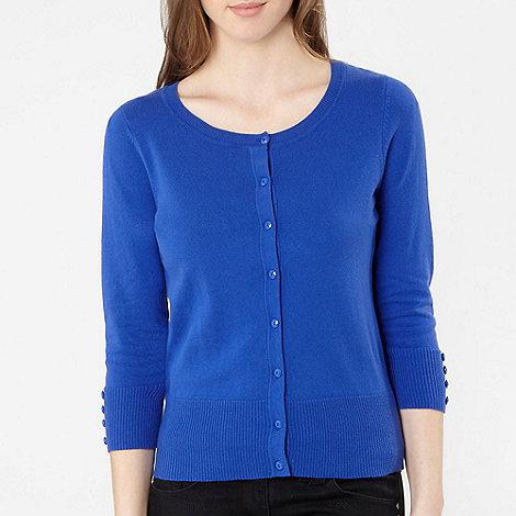 The Collection Petite - Petite bright blue plain cardigan
