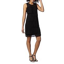 The Collection Petite - Petite black square layer dress