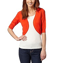 The Collection Petite - Bright red petite shrug