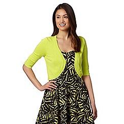 The Collection Petite - Bright green knitted petite shrug