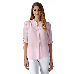 The Collection Petite - Petite pale pink crepe top