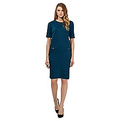 The Collection Petite - Turquoise ponte dress