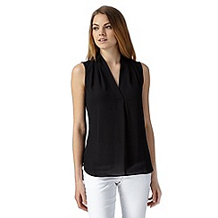 The Collection Petite - Petite black sleeveless top