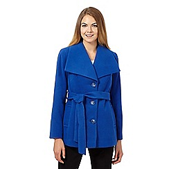 The Collection - Royal blue wing collar petite jacket
