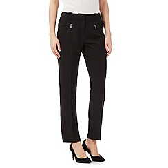 The Collection Petite - Black slim trousers