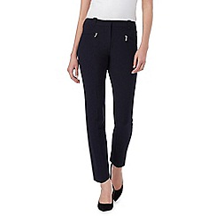 The Collection Petite - Navy slim fit trousers