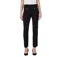 The Collection Petite - Black slim fit trousers