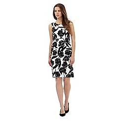 The Collection Petite - Black tulip print dress