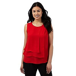 The Collection Petite - Red layered top