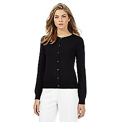 The Collection Petite - Black basic petite cardigan