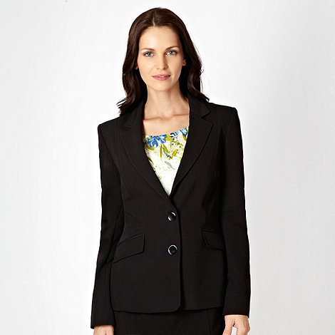 The Collection Petite - Petite black stab stitched blazer