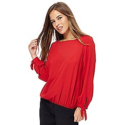 The Collection Petite - Red petite blouse