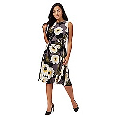 The Collection Petite - Multi-coloured floral print petite prom dress