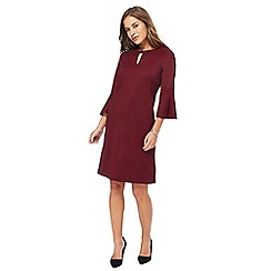 The Collection Petite - Wine red knee length petite shift dress