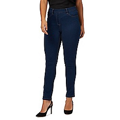 The Collection Petite - Blue slim fit petite jeggings