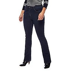 The Collection Petite - Blue bootcut petite jeans