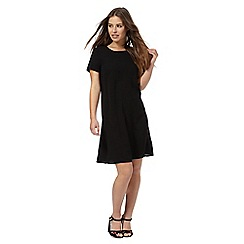 The Collection Petite - Black swing petite dress
