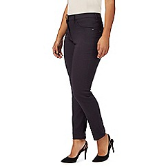 The Collection Petite - Black mid rise slim leg petite jeggings