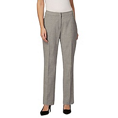 The Collection Petite - Grey slim suit trousers