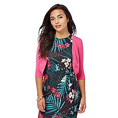 The Collection Petite - Bright pink shrug