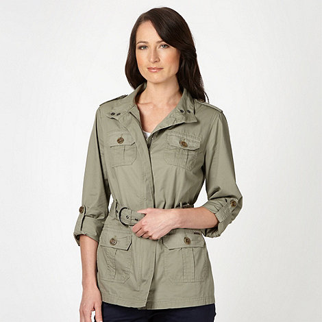 Maine New England - Khaki four pocket jacket