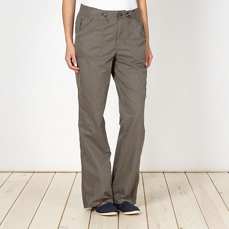 Maine New England - Dark grey six pocket trousers