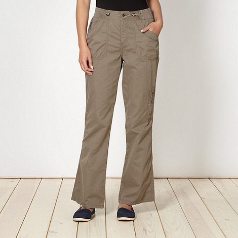 Maine New England - Taupe six pocket trousers