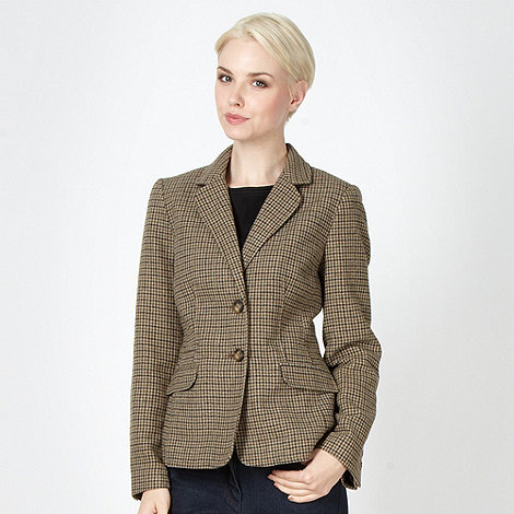 Maine New England - Taupe tweed blazer