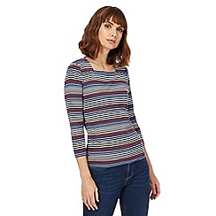 Maine New England - Blue striped top