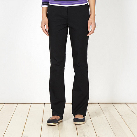 Maine New England - Black 2 way stretch trousers