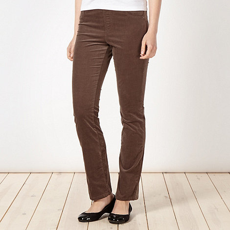 Maine New England - Taupe cord jeggings