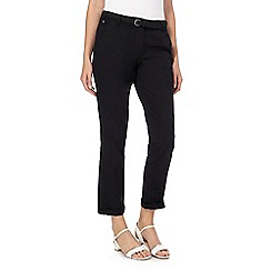 Maine New England - Black belted chinos