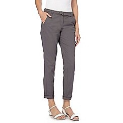Maine New England - Grey belted chinos