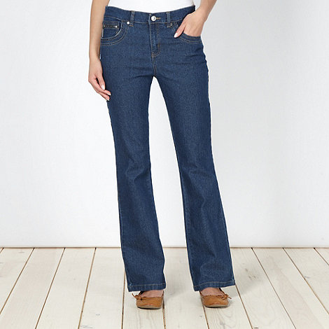 Maine New England - Blue bootcut jeans