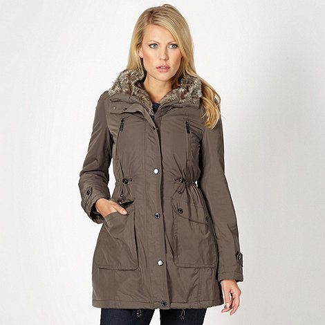 Maine New England - Natural luxury parka coat