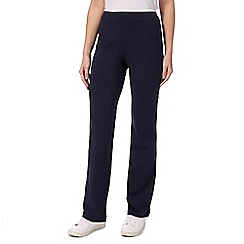 Maine New England - Navy piped jogging bottoms