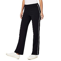 Maine New England - Black piped jogging bottoms