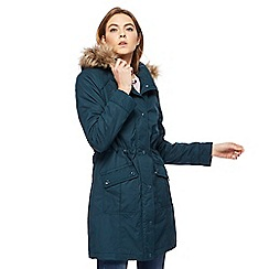 Maine New England - Turquoise shower resistant padded coat
