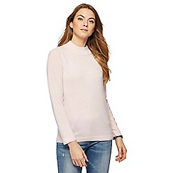 Maine New England - Light pink turtle neck jumper