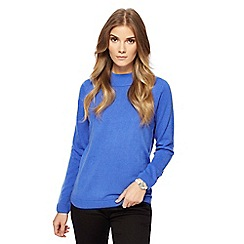 Maine New England - Blue turtle neck jumper
