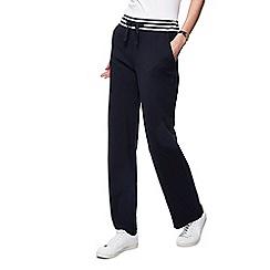 Maine New England - Black striped waist jogging bottom