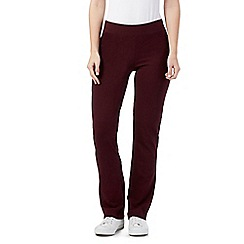 Maine New England - Purple slim leg jogging bottoms